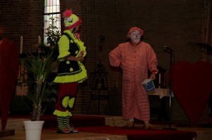 Clowns in Church