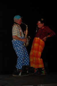 Clown Bluey & Conk