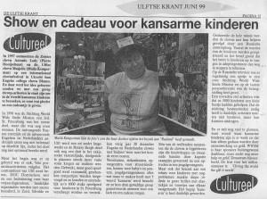Ulftse Krant June 1999